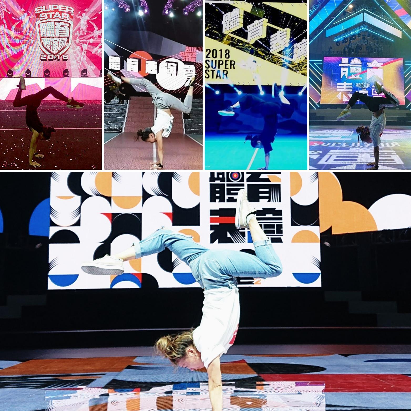 帶給觀眾的另類禮物 體育表演會節目總導演俞齊親突破自我設限!