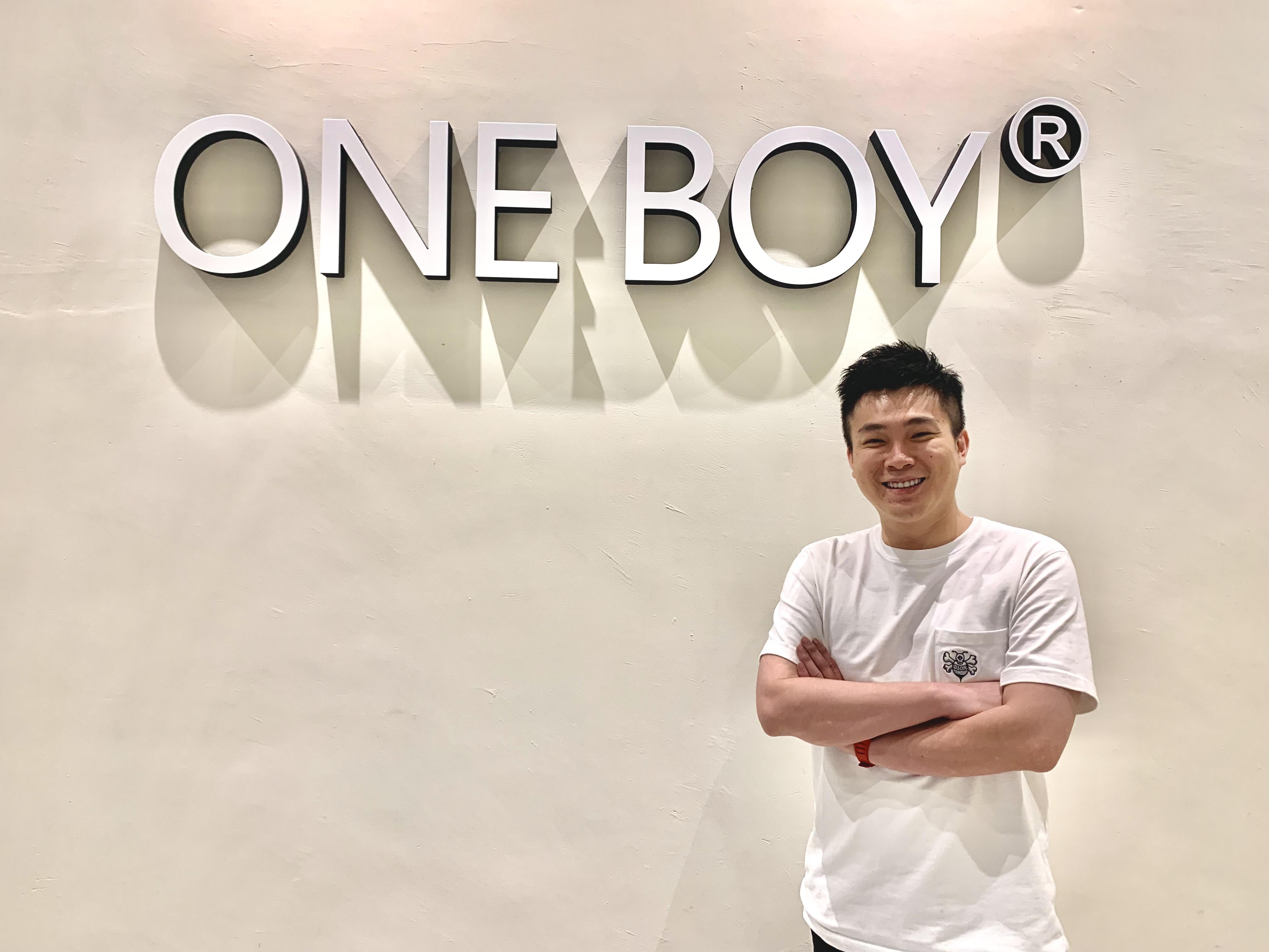 One Boy「一位大男孩」的起心動念  創辦人顏瑋廷:做屬於自己的事