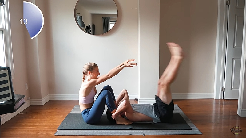 把幸福肥變成幸福肌肉,「雙人間歇性運動」一起減肥外還能增進感情變好!
