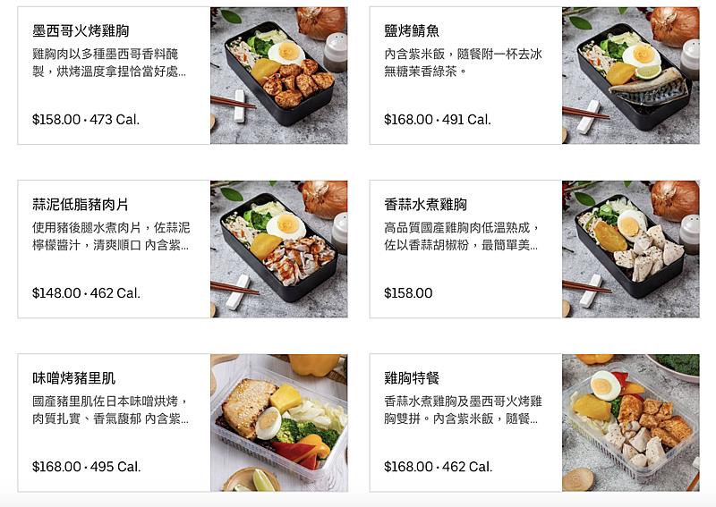 午餐不知道該吃什麼?上班族必收的Ubereats 健康餐盒店家推薦!