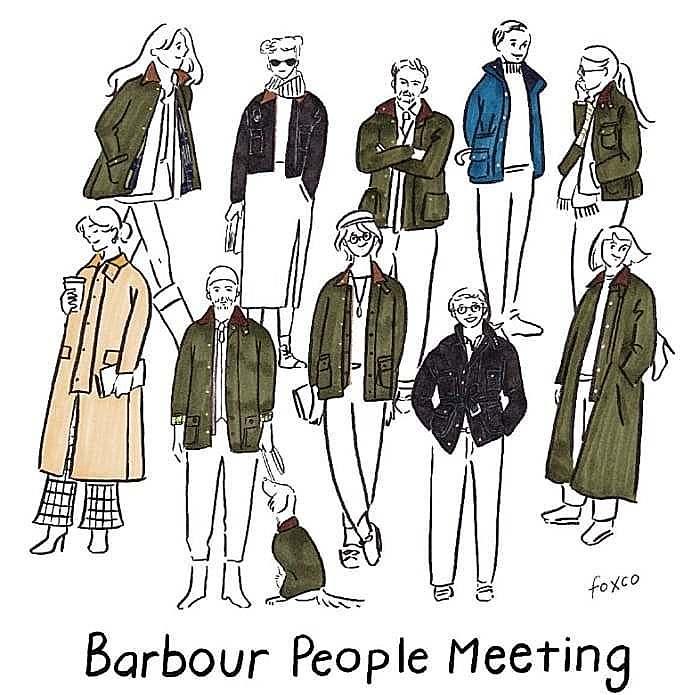 油布風衣代名詞!Barbour 為何讓眾多品牌爭相合作?