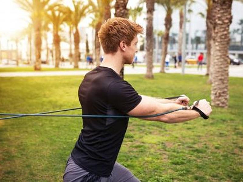 彈力帶=重量訓練?在家訓練也能擁有完美肌肉線條