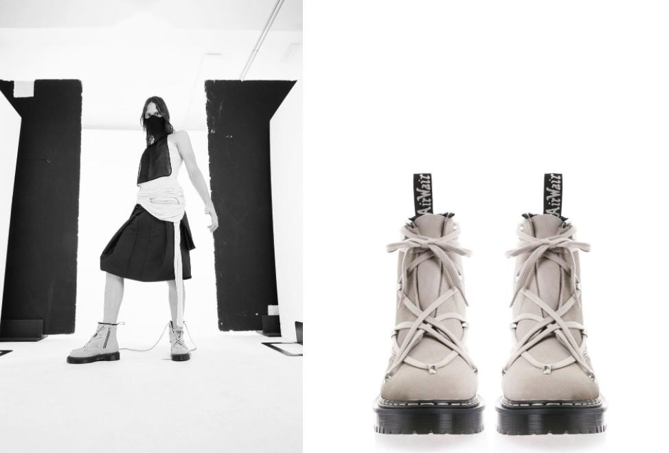 Rick Owens攜手Dr. Martens強勢回歸,將經典鞋款推上新高度