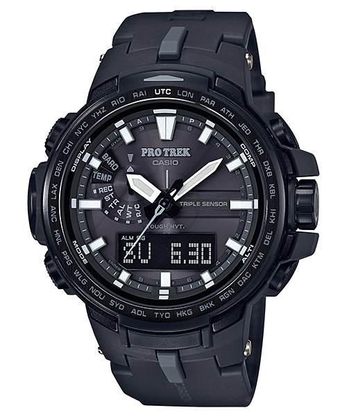 高質感外觀+細節滿滿,征服百岳最佳良伴:CASIO PRW-6100系列完美登山錶