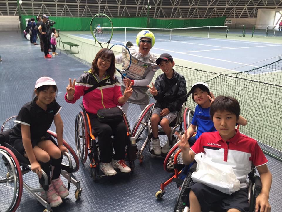 秉持推廣輪椅網球觀念來推廣更多身障運動。呂嘉儀提供